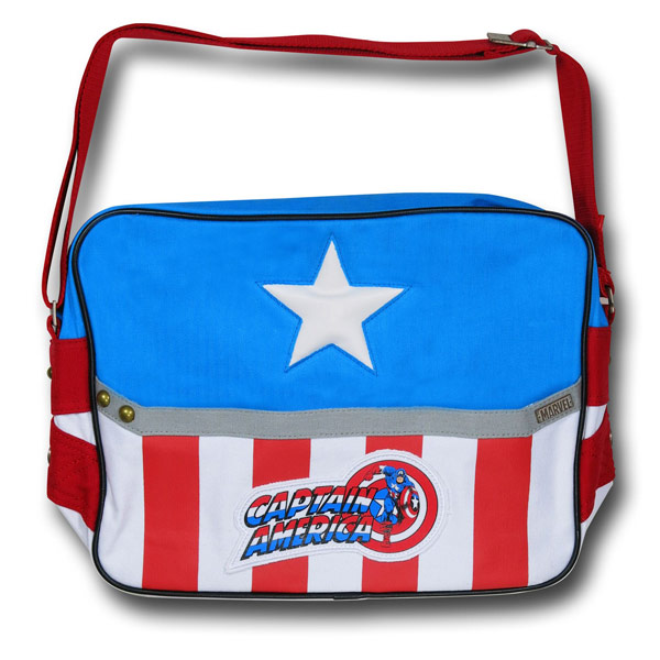 Captain America Costume Messenger Bag