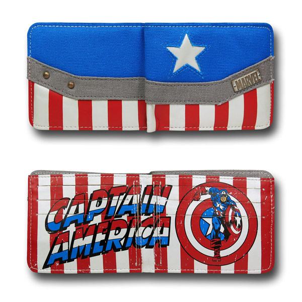 Captain America Costume Wallet