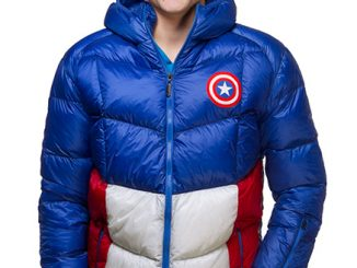 Captain America Down Jacket