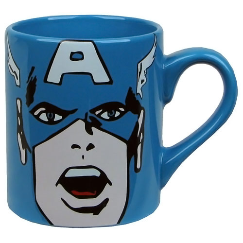 Captain America Face Mug