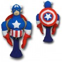 Captain America Figure Golf Club Cover