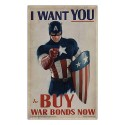 Captain America First Avenger I Want You Replica Poster