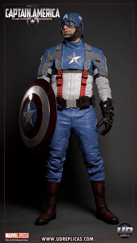 Captain America: The First Avenger Motorcycle Suit