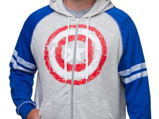 Captain America French Terry Hoodie