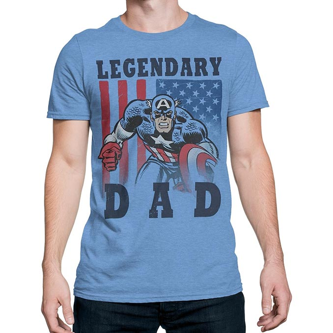 1e1d8177 New Marvel Superhero Father's Day T-Shirts