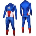 Captain America Long Sleeve Cycling Jersey and Pants