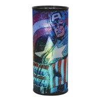 Captain America Marvel Cylindrical Nightlight
