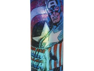 Captain America Marvel Cylindrical Nightlight