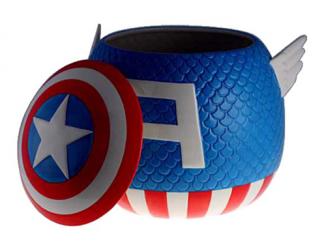 Captain America Molded Cookie Jar
