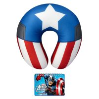 Captain America Neck Pillow and Journal Set