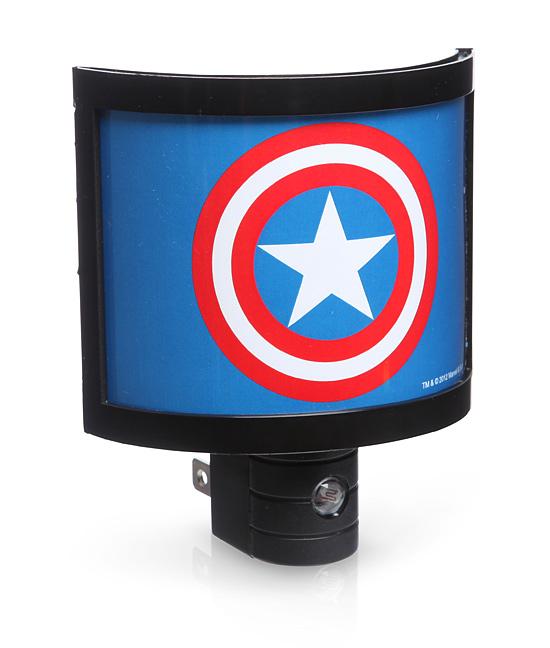 Captain America Night Light