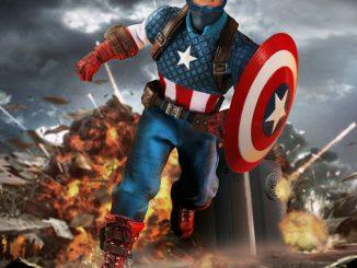 Captain America One 12 Action Figure