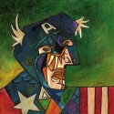 Captain America Picasso