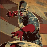 Captain America Poster - small