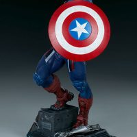 Captain America Premium Format Figure Sideshow Collectibles