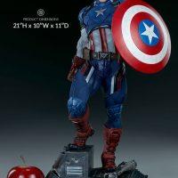 Captain America Premium Format Figure Size
