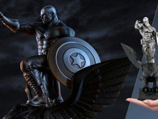 Captain America Resolute Figurine
