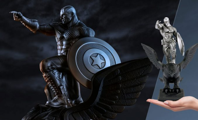 Captain America Resolute Figurine