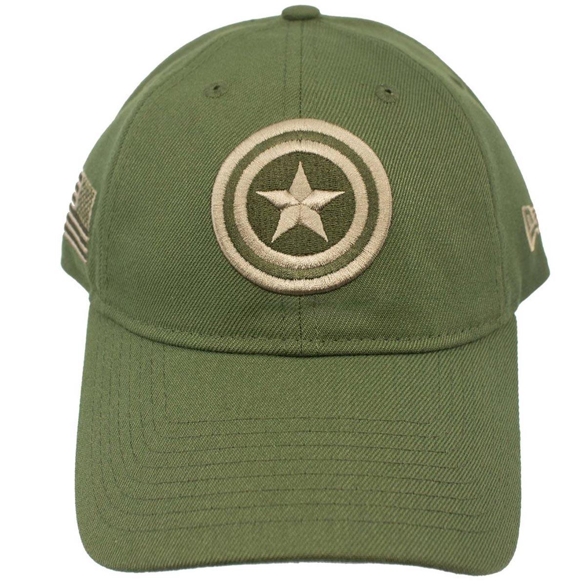 706ba352 Captain America Salute to Service 9Twenty Adjustable Hat