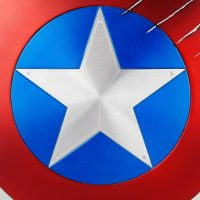 Captain America Shield Black Panther Claw Marks