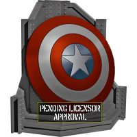 Captain America Shield Bookend
