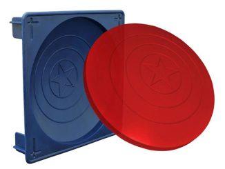 Captain America Shield Gelatin Mold