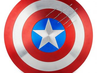 Captain America Shield Marvel Masterworks Film Prop Duplicate