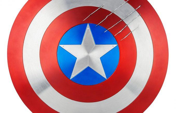 Captain America Shield Marvel Masterworks Film Prop Duplicate