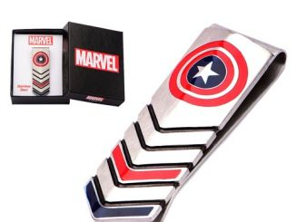 Captain America Shield Money Clip