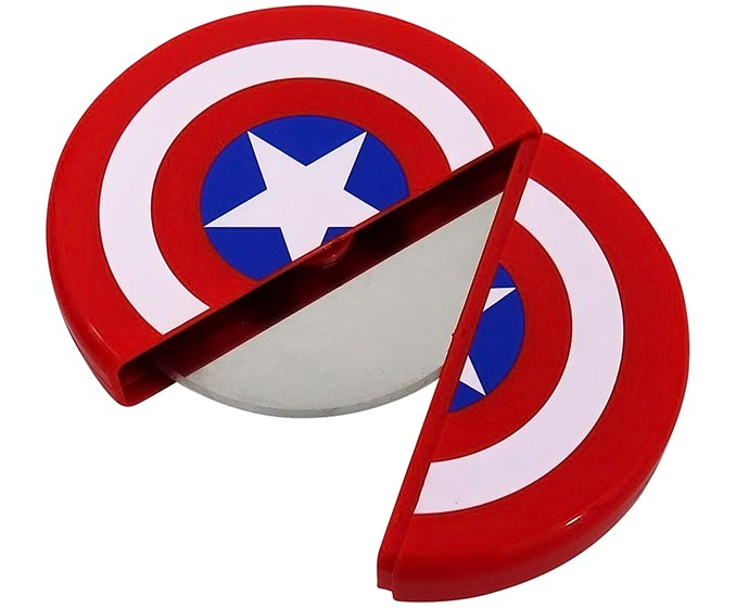 Captain America Shield Pizza Cutter