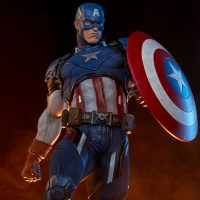 Captain America Shield Premium Format Figure