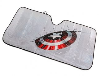 Captain America - Shield Universal Sunshade
