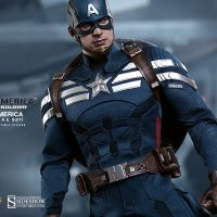 Captain America Sixth Scale Figure Stealth Strike Suit