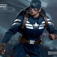 Captain America Sixth Scale Figure prepared