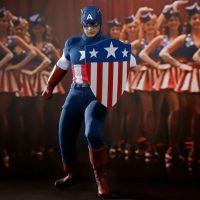 Captain America Star Spangled Man Sixth Scale Figure