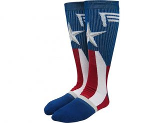 Marvel Captain America Suit-Up Crew Socks