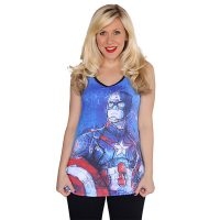 Captain America Tank Top