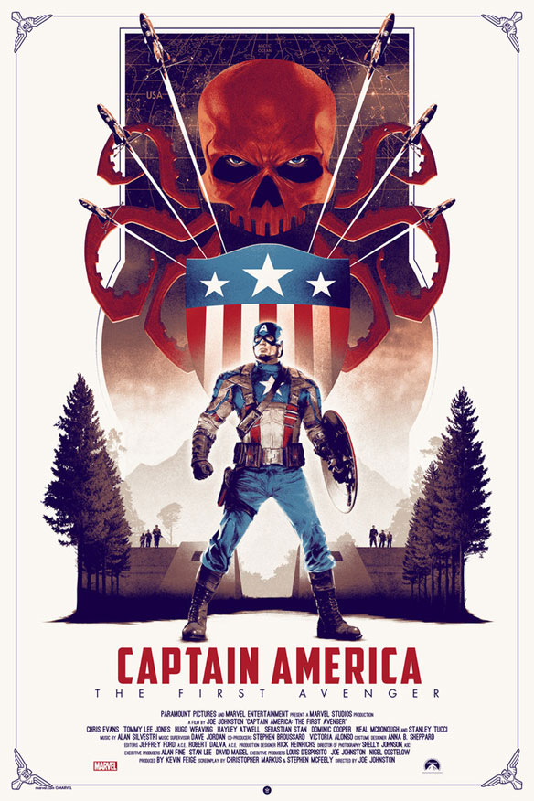 Captain America The First Avenger Regular Edition by Matt Ferguson