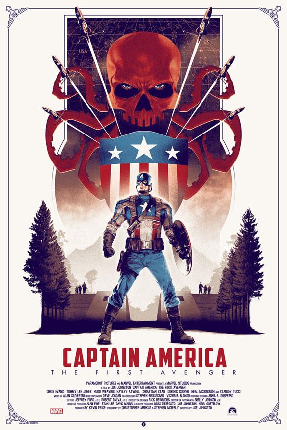 Captain America The First Avenger Regular Edition by Matt Ferguson