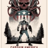 Captain America The First Avenger Variant Edition by Matt Ferguson