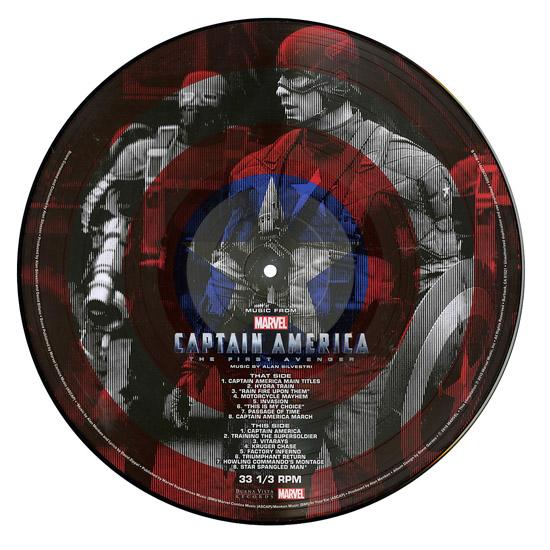 Captain America The First Avenger Vinyl LP 1