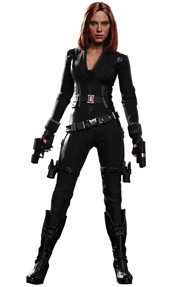 Captain America The Winter Soldier Black Widow Action Figure