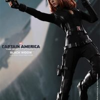 Captain America The Winter Soldier Black Widow Sixth Scale Figure Action