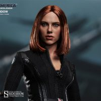 Captain America The Winter Soldier Black Widow Sixth Scale Figure Face