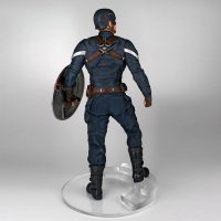 Captain America: The Winter Soldier Captain America Stealth 1:4 Scale Statue Back