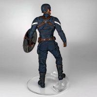 Captain America: The Winter Soldier Captain America Stealth 1:4 Scale Statue Back