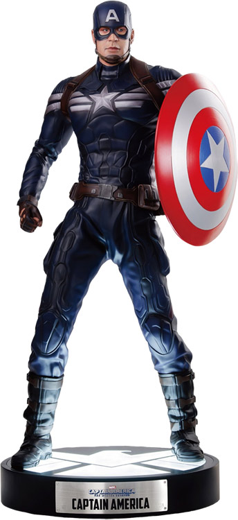 Captain America The Winter Soldier Life-Size Light-Up Statue