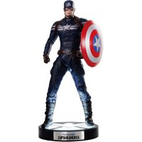 Captain America The Winter Soldier Life Size Light Up Statue