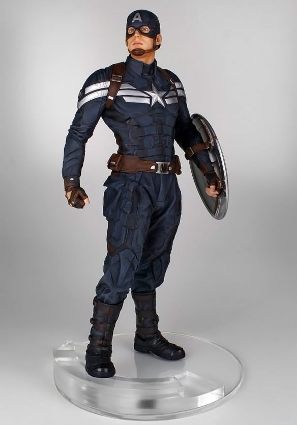 Captain America The Winter Soldier Statue