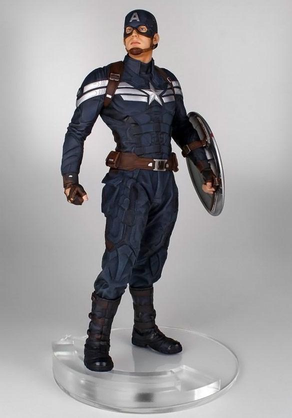 Captain America The Winter Soldier Statue